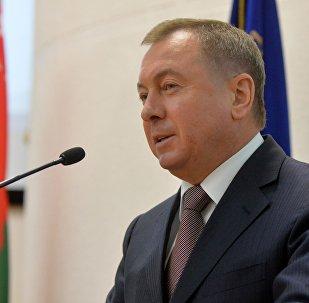 Baltkrievijas ārlietu ministrs Vladimirs Makejs