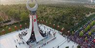 Piemineklis apvērsuma upuriem Ankarā