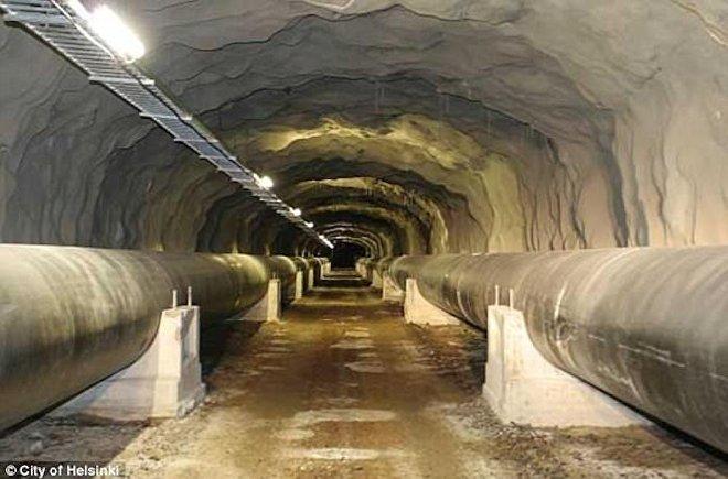Подземелья Хельсинки