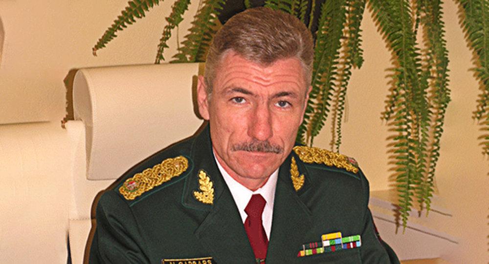 Руководитель пограничной служба Латвии Нормундс Гарбарс