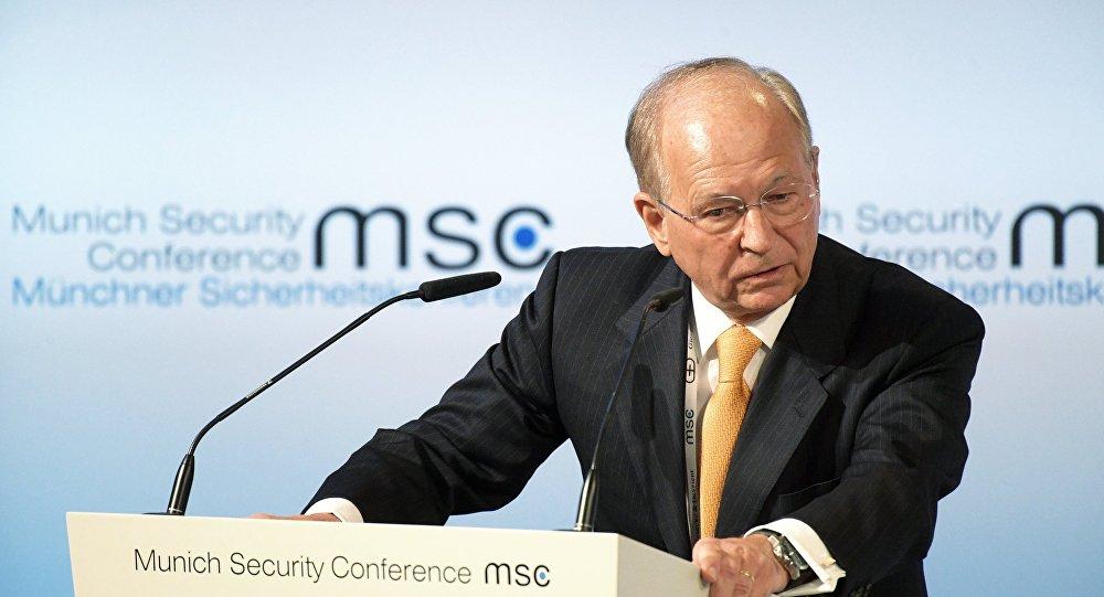 Председатель ежегодной Мюнхенской международной конференции по безопасности Вольфганг Ишингер, архивное фото