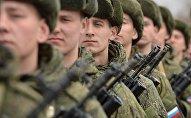 Krievijas armijas karavīri