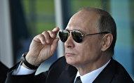 Krievijas prezidents Vladimirs Putins