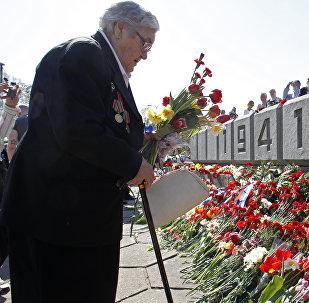 Празднование 9 мая в Риге, архивное фото