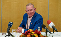 Пресс-конференция мэра Вентспилса Айварса Лембергса