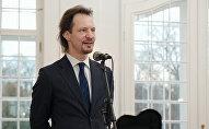 Igaunijas kultūras ministrs Indreks Sārs. Foto no arhīva