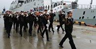 Trīs Ķīnas JKF kuģi ieradušies Baltijskā