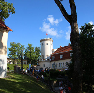 Cēsu pils parkā