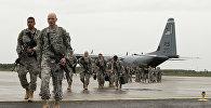NATO karavīri Emari aviobāzē Igaunijā