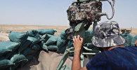 Ciema Imam Garbi atbrīvošana Mosulas dienvidu daļā. Foto no arhīva