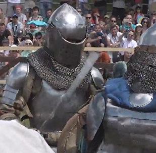 Bruņinieku turnīrs un Galmu kauja Dudutkos