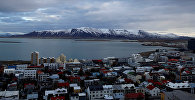 Islandes galvaspilsēta Reikjavika. Foto no arhīva