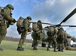 Krievijas un Baltkrievijas militārās mācības. Foto no arhīva.