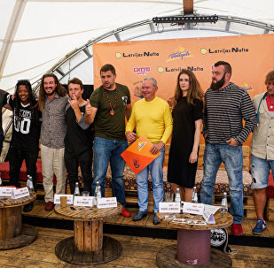 Пресс-конференция посвященная международному фестивалю Getto Games в Вентспилсе