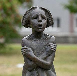 Памятник пропавшим детям в Вильнюсе