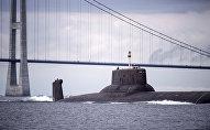 Атомный подводный ракетный крейсер Дмитрий Донской