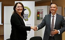 Визит в KNAB Латвии представителя украинского Национального антикоррупционного агентства