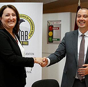Latvijas un Ukrainas pretkorupcijas iestāžu vadītāji