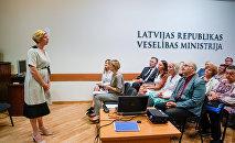 Встреча министра здравоохранения Латвии Анды Чакши с семейными врачами