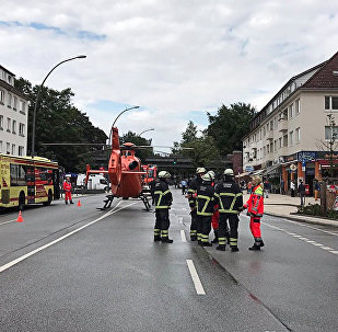 Нападение в супермаркете в Гамбурге