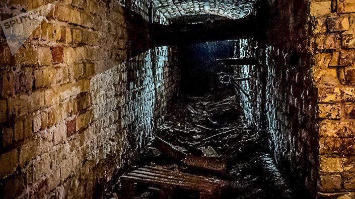 Остатки средневековой тюрьмы