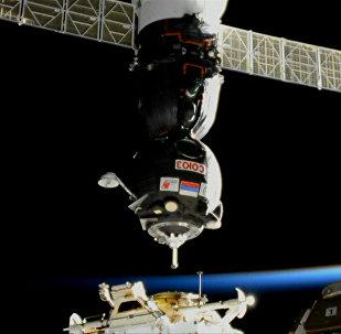 Kuģis Sojuz MS-05 savienojies ar SKS