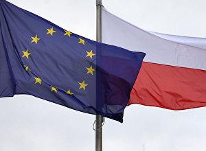 ES un Polijas karogi