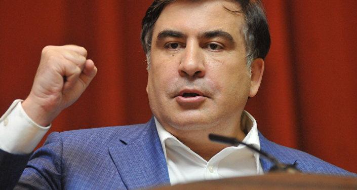 Gruzijas bijušais prezidents Mihails Saakašvili