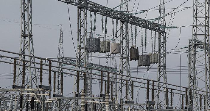 Elektroenerģijas apakšstacija. Foto no arhīva
