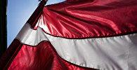 Флаг Латвии, иллюстративное фото