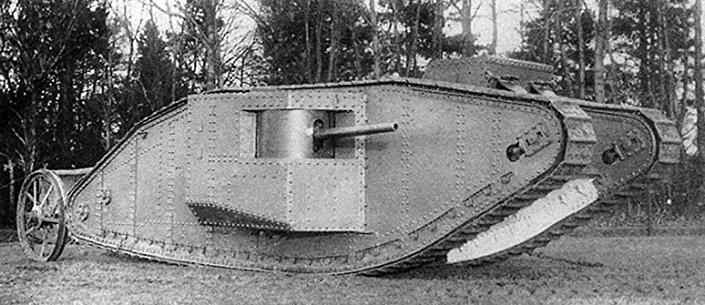 Британский тяжелый танк периода Первой мировой войны Mark I