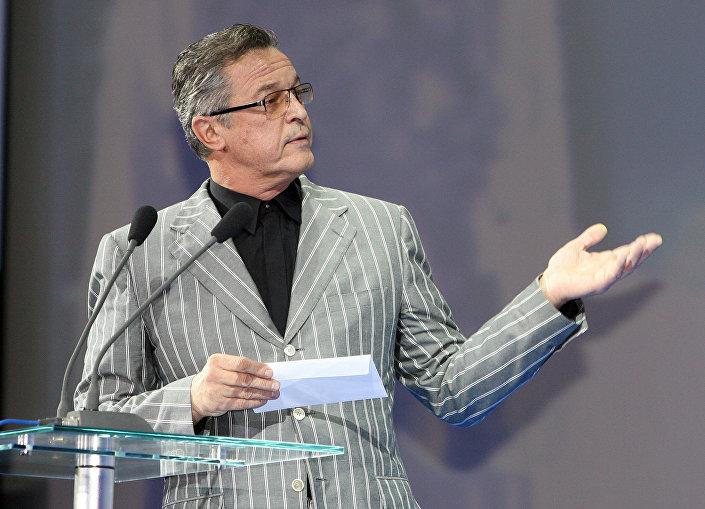 Ивар Калныньш на закрытии кинофестиваля Меридианы Тихого во Владивостоке