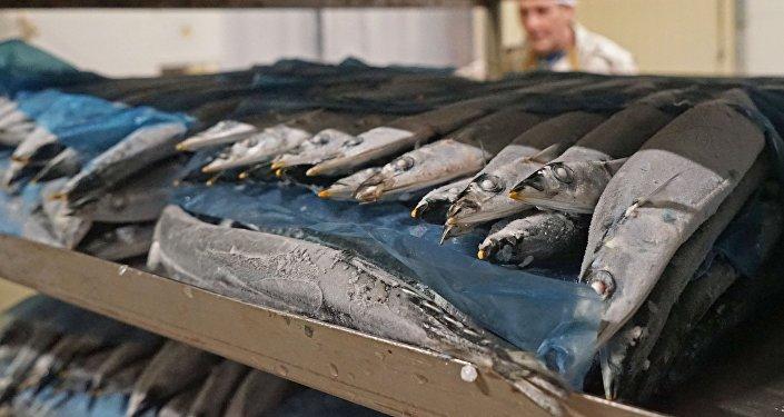 Zivju pārstrādes uzņēmums. Foto no arhīva