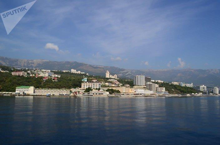 Ялта, Крым, морской пейзаж