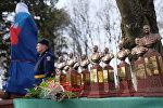 Открытие памятника погибшему в Сирии летчику Р.Хабибулину