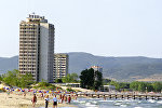 На побережье курорта Солнечный Берег