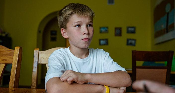 Эдгар Гропе участник от Латвии международного конкурса Ты супер! на канале НТВ