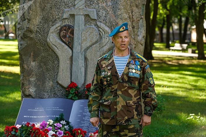 Томас Витолс - руководитель Латвийского Содружества Ветеранов –Десантников