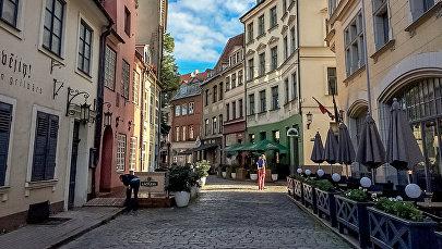 Улица Яуниела (Jauneila)  в Риге