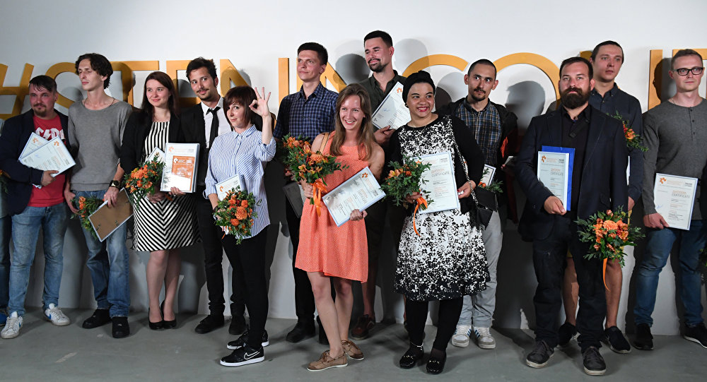 Andreja Steņina vārdā nosauktā Starptautiskā fotožurnālistikas konkursa uzvarētāju un laureātu izstādes atklāšana Maskavā