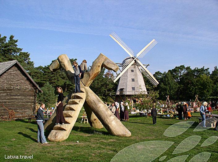 Природный музей под открытым небом в Вентспилсе