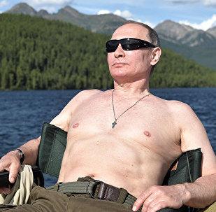 Krievijas prezidents Vladimirs Putins pavadīja atpūtu Tivas Republikā