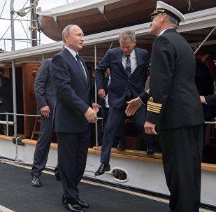 Krievijas prezidenta Vladimira Putina darba vizīte Somijā