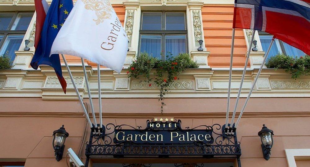 Гостиница Garden Palace в Риге