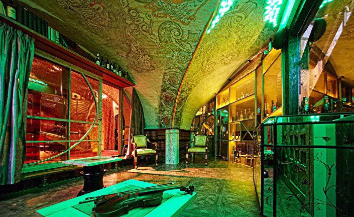 Интерьер гостиницы Garden Palace в Риге