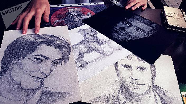 Портреты авторства Виктории