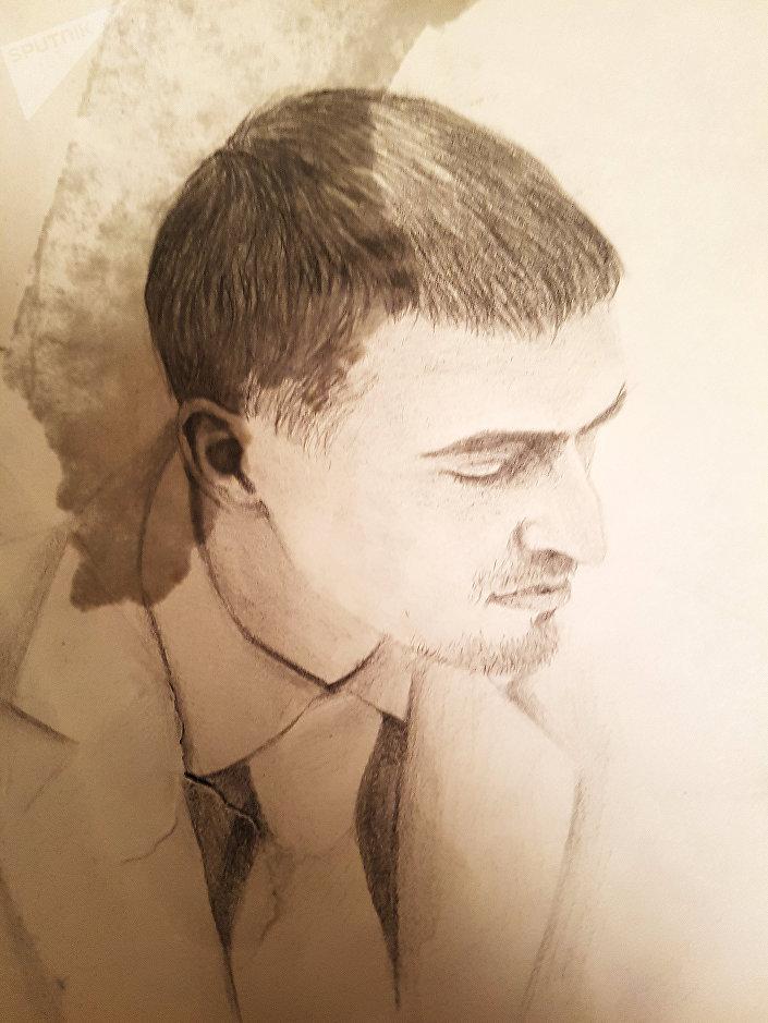 Портрет, созданный Викторией