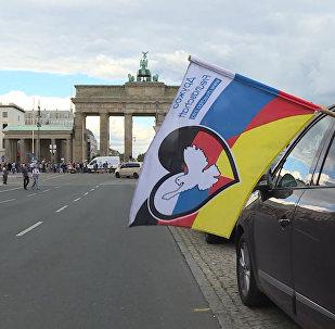 Автопробег дружбы Берлин — Москва финишировал в ФРГ