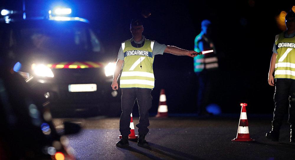 Francijas policija. Foto no arhīva