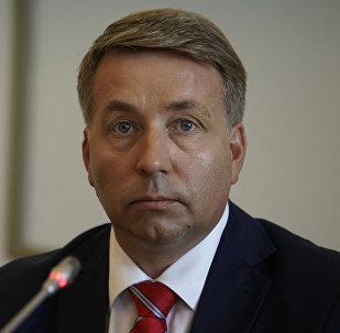 Министр сообщения Латвийской Республики Улдис Аугулис